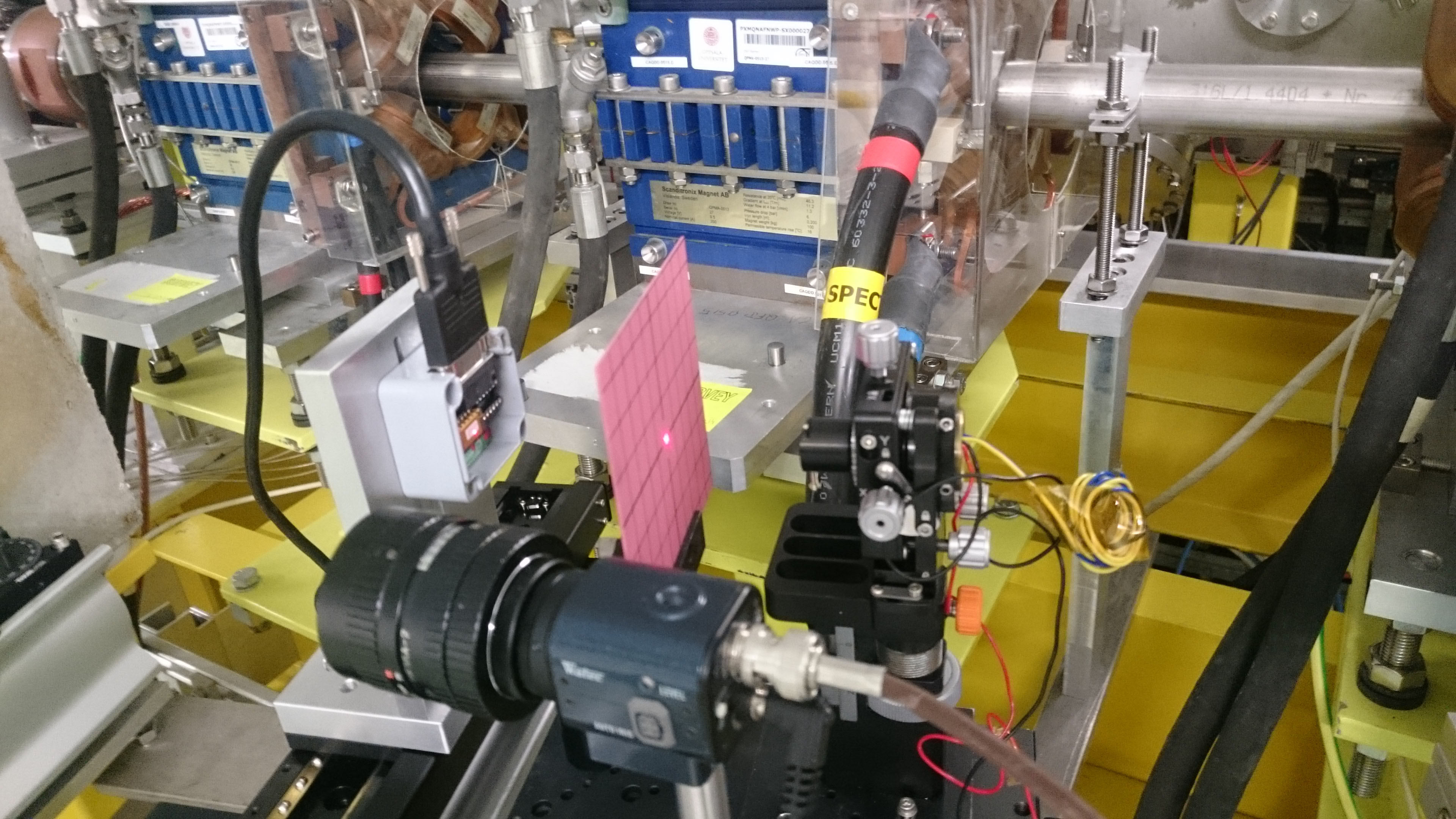 The Laser alignment System